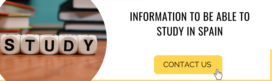 Information to be able to study in Spain